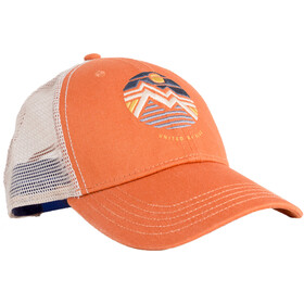 United By Blue Geo Mountain Trucker-lippis, tawny
